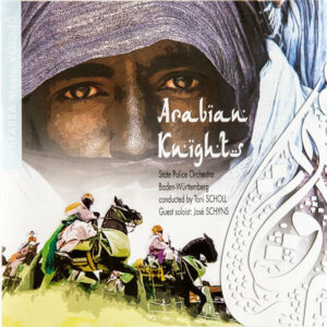 CD Cover Vorderseite Arabian Knights