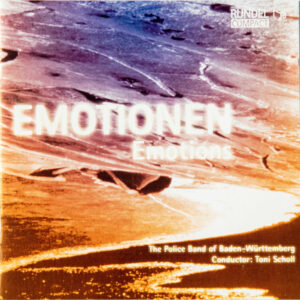 CD Cover Vorderseite EMOTIONEN